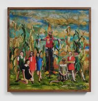 The Corn Ritual by Marnie Weber contemporary artwork mixed media