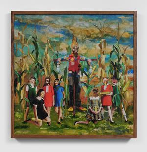The Corn Ritual by Marnie Weber contemporary artwork