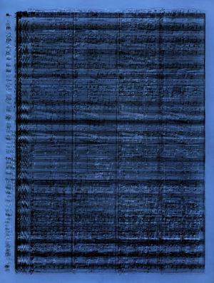 Lost Happiness by Idris Khan contemporary artwork
