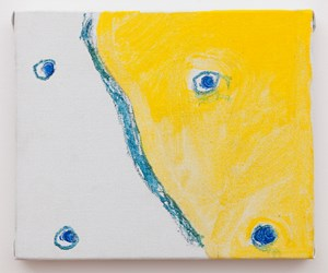 One-eyed by Raoul De Keyser contemporary artwork