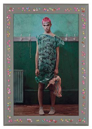 Le petit bizut  (Vincent Cohen) by Pierre et Gilles contemporary artwork