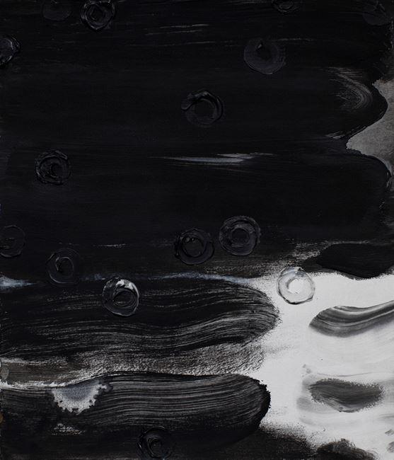 Rubbing Rain Series by Jian-Jun Zhang contemporary artwork