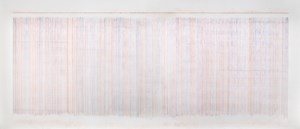 Plumb Line Drawing No.07 by Susan Morris contemporary artwork works on paper