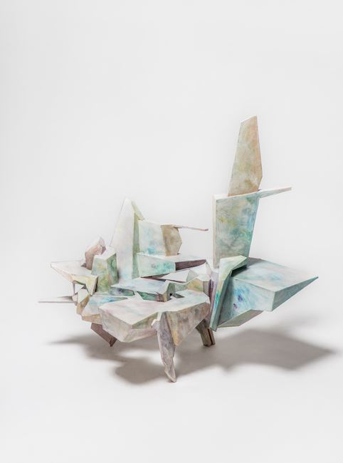 False Azure in the Windowpane by Lee Bul contemporary artwork