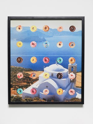 Candy Crush Collage by Oliver Payne contemporary artwork