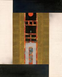 Gate of Peace by Liao Shiou Ping contemporary artwork painting, works on paper