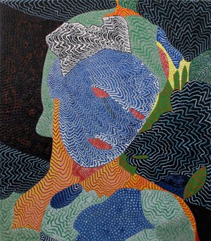 Veil by Arie Hellendoorn contemporary artwork