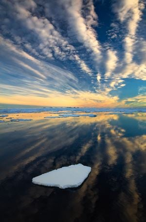 Arctic Sky by Stephen King contemporary artwork