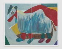 Horse Costume by Simon Blau contemporary artwork painting