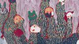 Contemporary art exhibition, Portia Zvavahera, Ndakaoneswa murima at David Zwirner, 19th Street, New York, USA