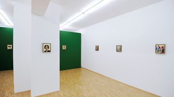 Contemporary art exhibition, Peter Daverington, New Paintings at Boutwell Schabrowsky Gallery, Munich