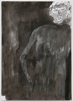 T.S. drawing #1 by Kristin Hollis contemporary artwork