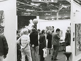 Archive images from the world's first modern art fair: Art Cologne turns 50