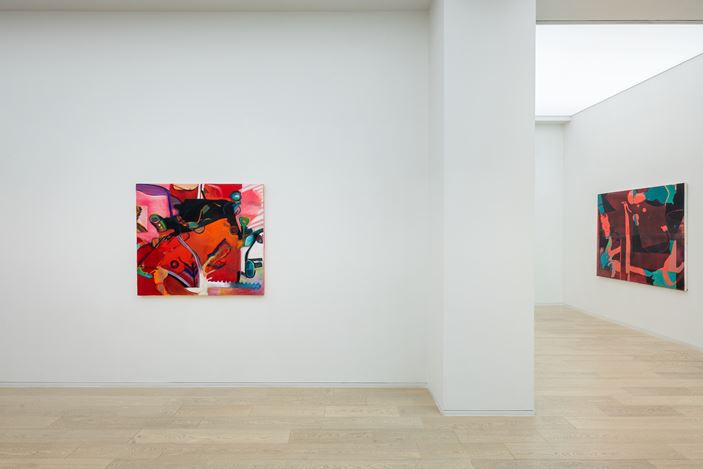 Exhibition view: Alex Hubbard, Simon Lee Gallery, Hong Kong (15 January–13 March 2021). Courtesy the artist and Simon Lee Gallery.