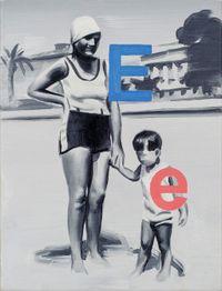 Elly Jones 1928 (I wish you liked me) by Marcin Maciejowski contemporary artwork painting
