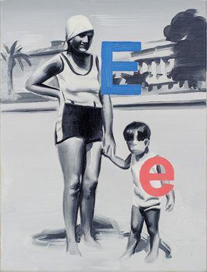 Elly Jones 1928 (I wish you liked me) by Marcin Maciejowski contemporary artwork