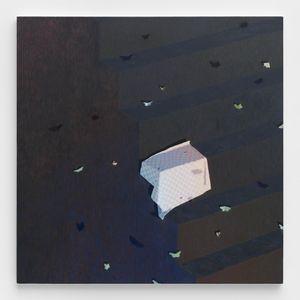 Resting Map by DANA LOK contemporary artwork