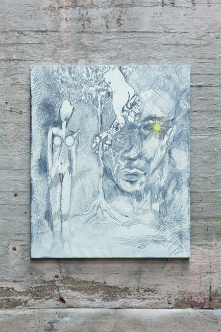 Straggling star by Aleksander Hardashnakov contemporary artwork