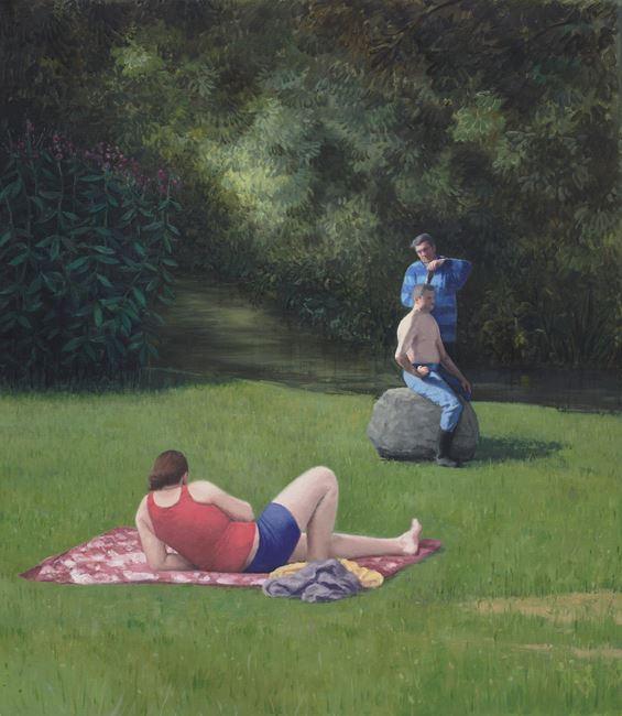 Menage a Trois by Serban Savu contemporary artwork