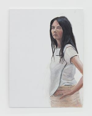 Untitled (lockdown portrait) by Gillian Wearing contemporary artwork