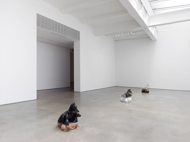 Exhibition view: Oliver Laric,Year of the Dog, Metro Pictures, New York (3 March–14 April 2018). Courtesy the artist and Metro Pictures, New York. Photo:Genevieve Hanson.