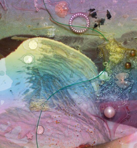Mimosa Echard at Galerie Chantal Crousel 2
