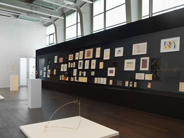 Exhibition view: Group Exhibition, max bill bauhaus constellations, Hauser & Wirth, Zürich (9 June–14 September 2019). © Angela Thomas Schmid / 2019 ProLitteris, Zurich. Courtesy the Max Bill Georges Vantongerloo Stiftung and Hauser & Wirth.
