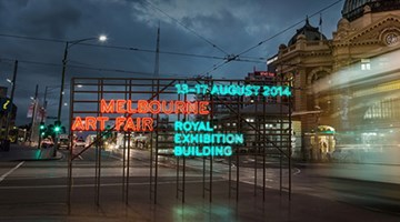 Contemporary art art fair, Melbourne Art Fair 2014 at Ocula Advisory, London, United Kingdom