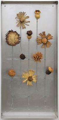 Teaching Aids: Appropriate brushes for a small flower painting by Julia Morison contemporary artwork mixed media
