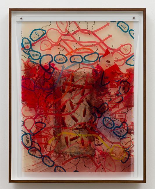 Map by Jibade-Khalil Huffman contemporary artwork