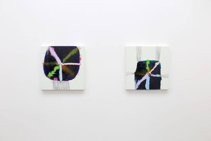Exhibition view: Marie Le Lievre, Sounds Woo, Jonathan Smart Gallery, Christchurch (10 November–28 November 2020). Courtesy Jonathan Smart Gallery.