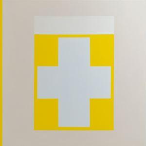 Beginning (the cross) by Pollyxenia Joannou contemporary artwork