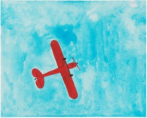 Untitled (Piper J-3 Cub) by Mayo Thompson contemporary artwork