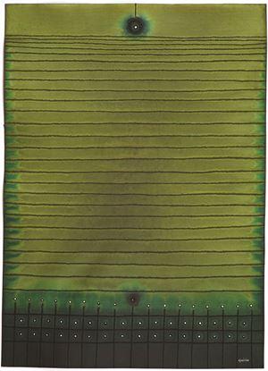 Abhasa I by Sohan Qadri contemporary artwork works on paper