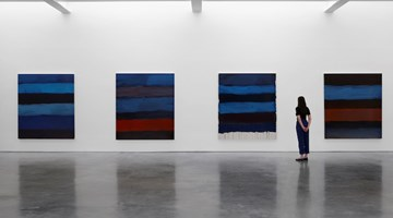 Contemporary art exhibition, Sean Scully, PAN at Lisson Gallery, West 24th Street, New York, USA