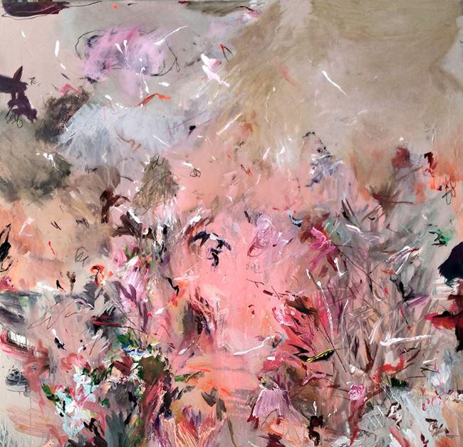 Vallery by Ibrahim contemporary artwork