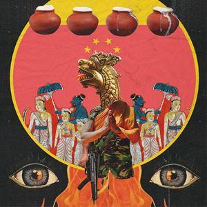 groundviews kolaj by Muvindu Binoy contemporary artwork