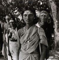 Pilgrims, Madutai, India by Rosalind Fox Solomon contemporary artwork photography, print
