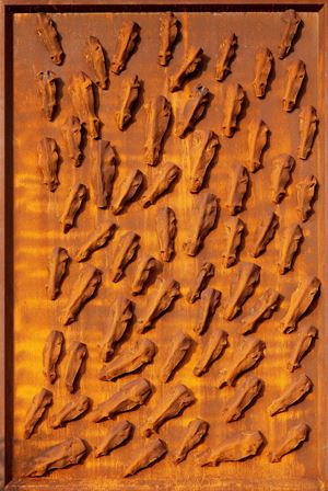 Horses in Wild by Liang-Tsai Lin contemporary artwork