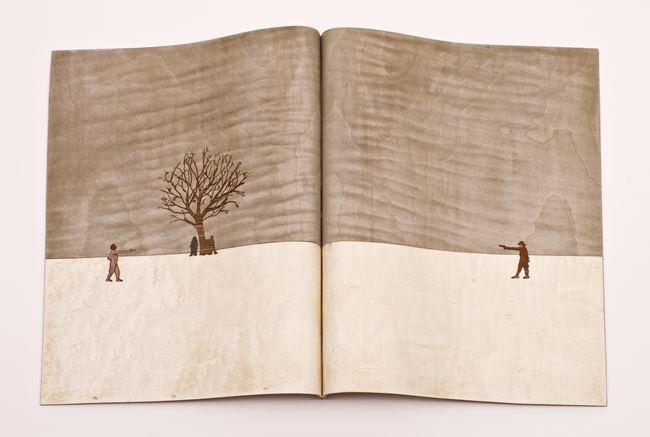 The duelists by Sebastián Gordín contemporary artwork