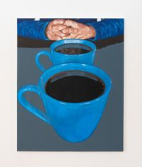 Two Cups by Dongho Kang contemporary artwork painting