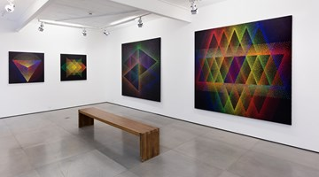 Contemporary art exhibition, Julio Le Parc, obras recentes at Galeria Nara Roesler, Rio de Janeiro