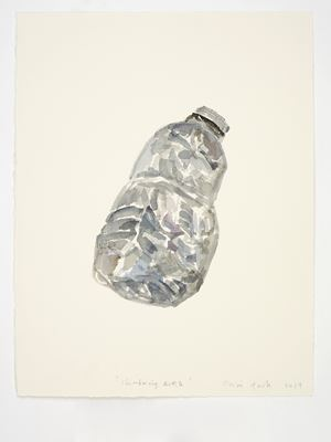 Slumbering Bottle by Gavin Turk contemporary artwork