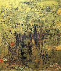 A Torrid Golden Field by Tsang Chui Mei contemporary artwork painting