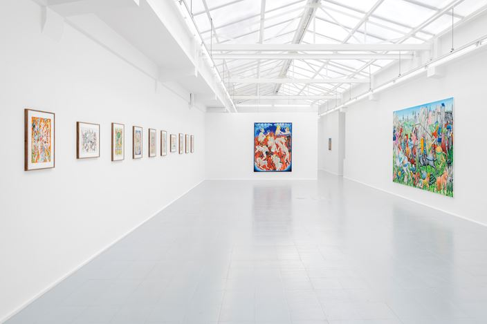 Exhibition view: Tom Poelmans, The End of Time, rodolphe jannsen, Brussels (3 September–24 October 2020). Courtesy rodolphe janssen.