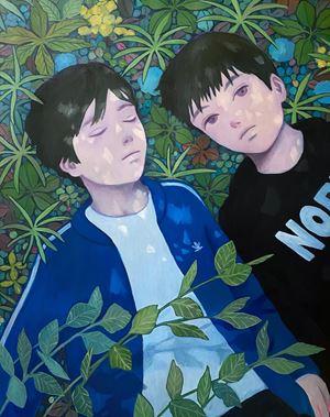 After School by Tatsuhito Horikoshi contemporary artwork