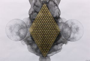 Twin Moon by Albert Yonathan Setyawan contemporary artwork