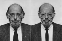 Allen Ginsberg (diptych) by Jiří David contemporary artwork photography