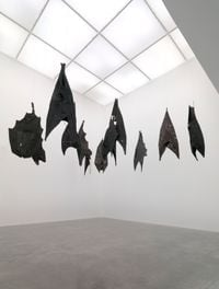 Lazarus by Ibrahim Mahama contemporary artwork sculpture