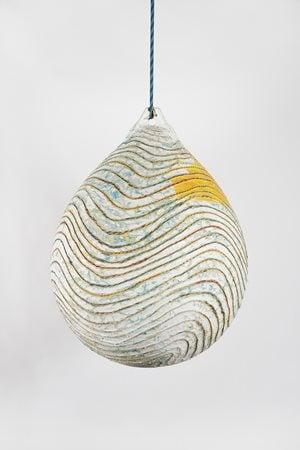 The Loop of Deep Waters 1 by Mark Bradford contemporary artwork